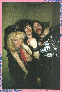 Stiv Mike and Lemmy